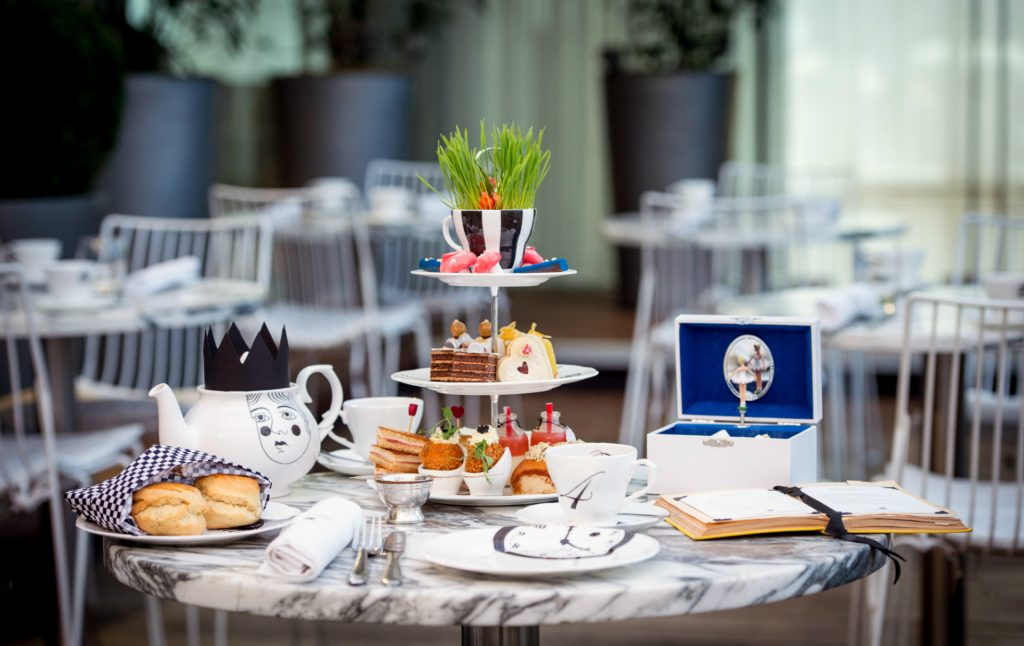London: Mad Hatters Afternoon Tea at the Sanderson Hotel