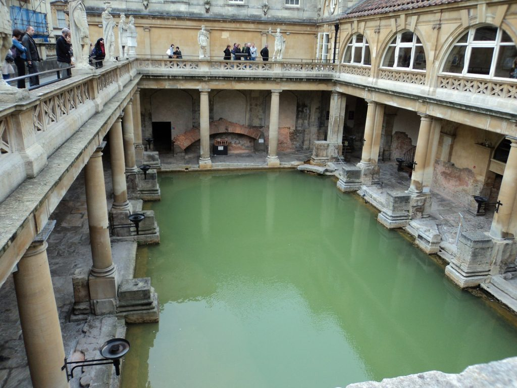 Bath: Roman Bath near London