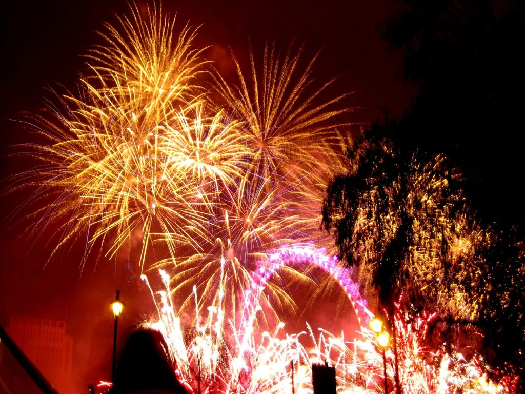 London: New Year